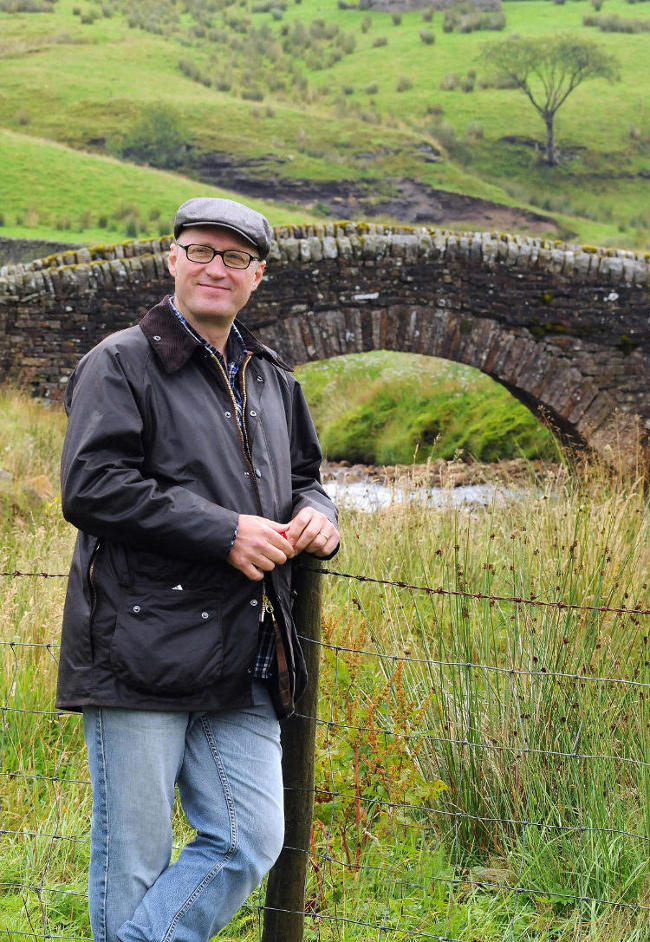 Adrian Edmondson in The Dales