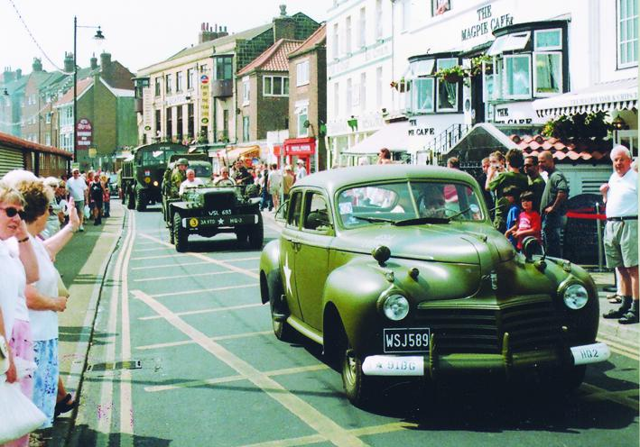 Fabulous 40s vehicles parade through Whitby