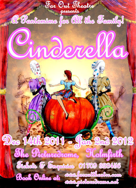 Cinderella Poster, picture courtesy of Holmfirth Picturedrome
