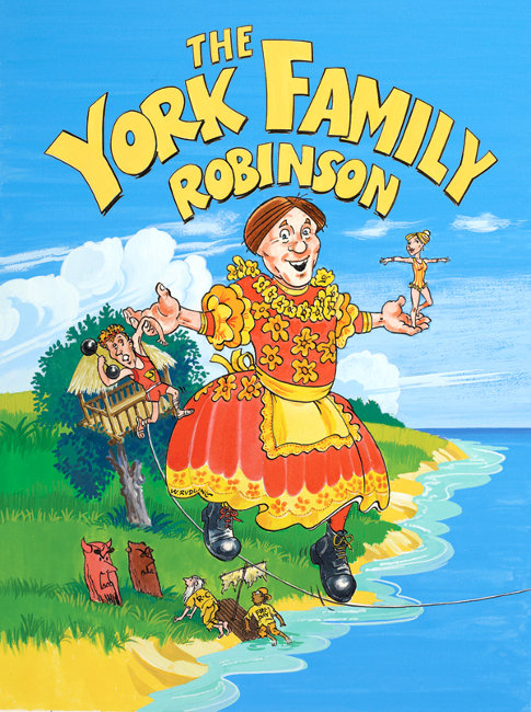 York Family Robinson, poster courtesy of York Theatre Royal