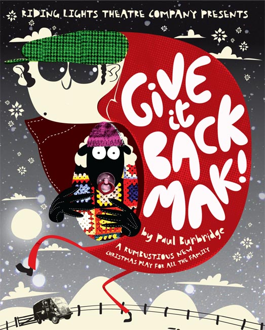 Give It Back, Mak - image courtesy of Riding Lights Theatre Company