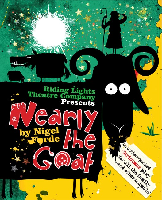 Nearly The Goat - image courtesy of Riding Lights Theatre Company