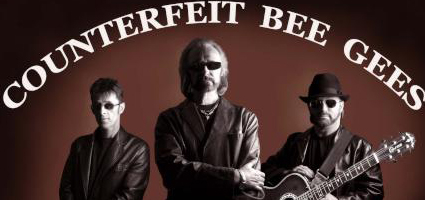 Counterfeit Bee Gees, picture courtesy of Thirsk Picnic in the Park