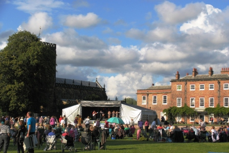 Picnic in the Park - picture courtesy of Thirsk Picnic in the Park