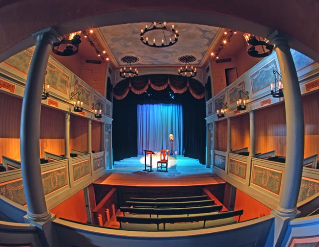 Georgian Theatre Royal Auditorium - picture courtesy of the Georgian Theatre Royal