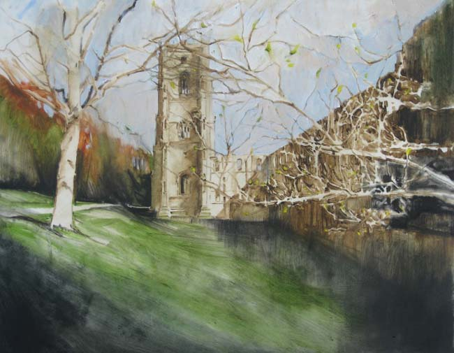 Approaching the Abbey, November by Emerson Mayes - photograph courtesy of NYOS
