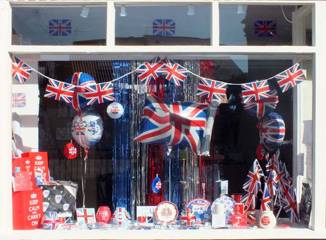 Ready for the Jubilee in Easingwold - photo  Chris Jones/Bow House Ltd