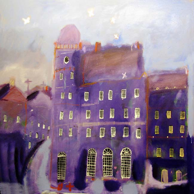 Violet Night by Richard Snowden - photograph courtesy of NYOS