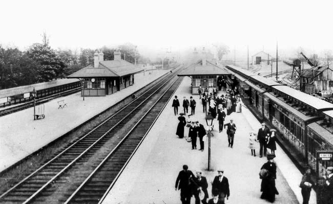 East Yorkshire Railway Stations - Brough - courtesy John Law Collection/Amberley Publishing