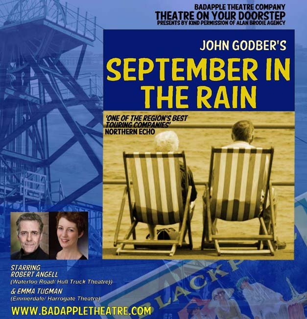 Sept in the Rain - playbill