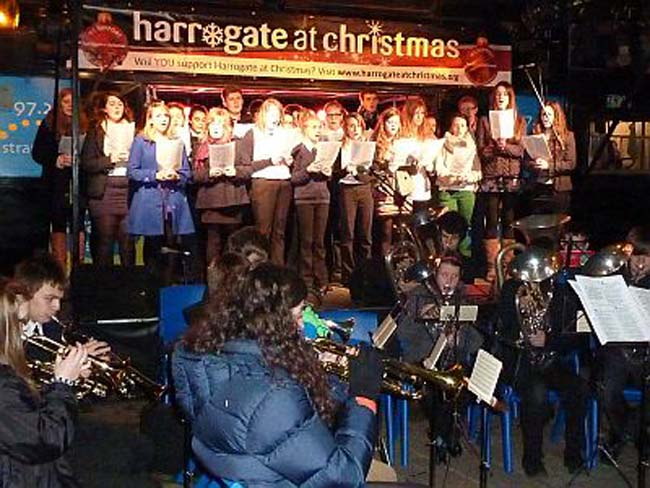 Harrogate at Christmas entertainment