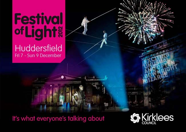 Huddersfield Festival of Lights 2012