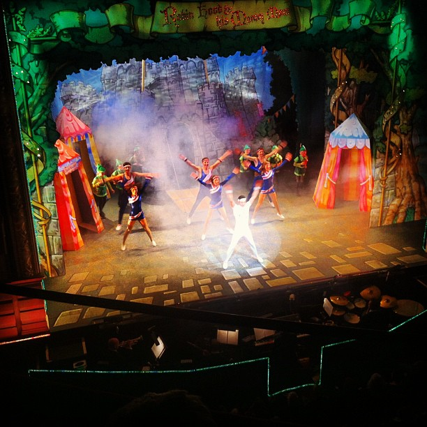 The 2012-13 panto at the Theatre Royal