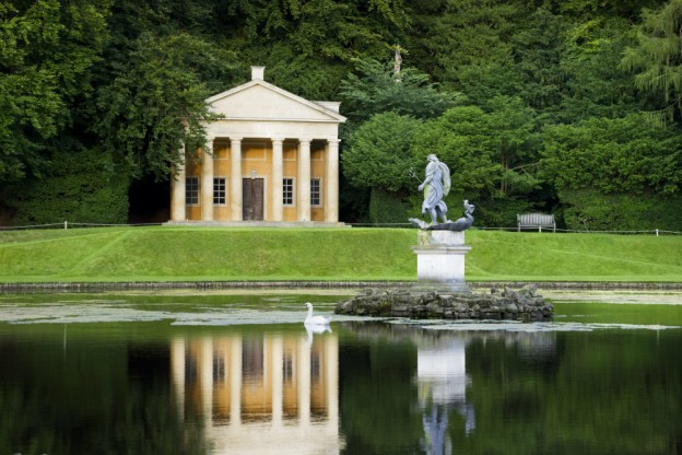 Temple of Piety at Fountains Abbey & Studley Royal, credit Andrew Butler