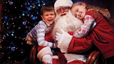 Santa at Lightwater Valley 2015