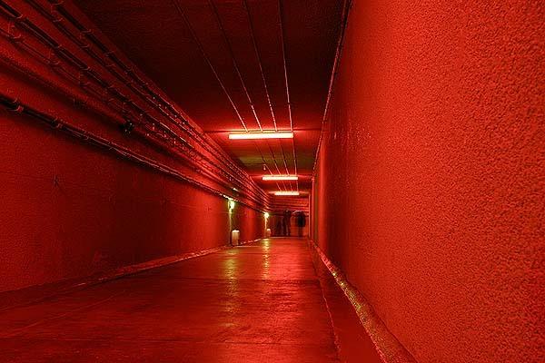 Entrance Tunnel to RAF Holmpton's Coldwar Bunker