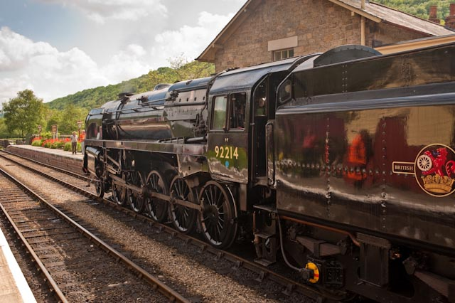 New engine signs for the NYMR