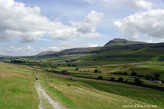 Photogrpagh of Ingleborough by Brian Hill