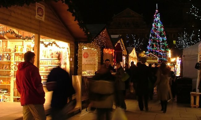 Christmas Markets are extremely popular in Yorkshire