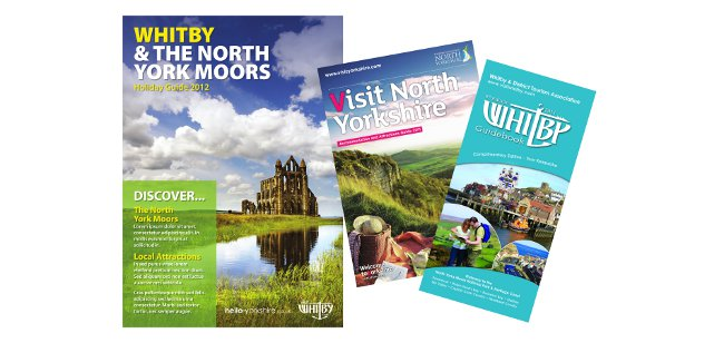 Brand New Printed Holiday Guide For Whitby And The North
