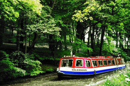 Dalesman - one of Pennine Boat Trips' narrowboats