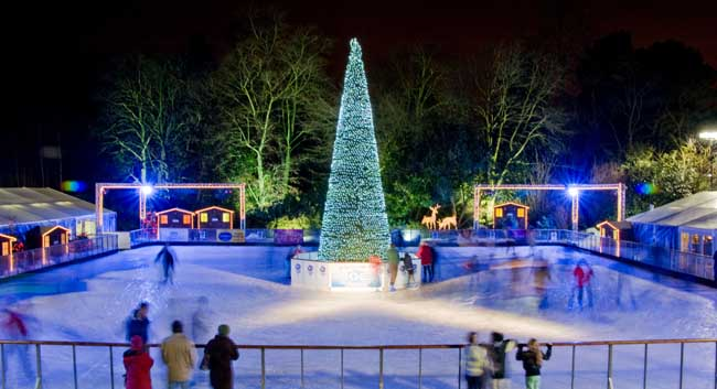 Yorkshire's Winter Wonderland and Ice Factor - Skating Rink