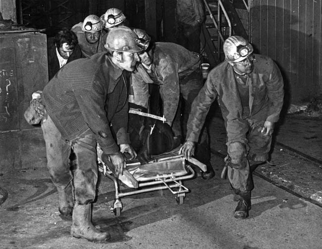 Yorkshire People and Coal - Five miners died and another was injured Houghton Main Colliery, Barnsley in June 1945 - courtesy Yorkshire Post/Amberley Publishing