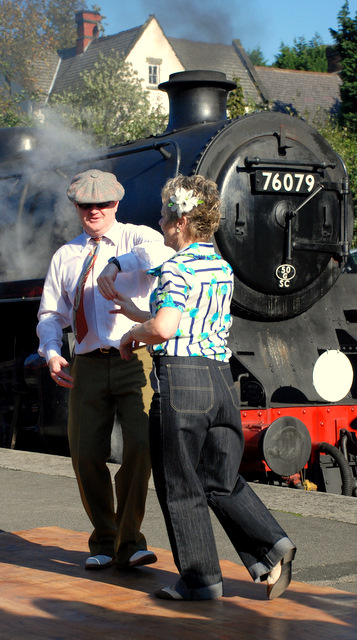 Join in with a Lindy Hop at Grosmont Station