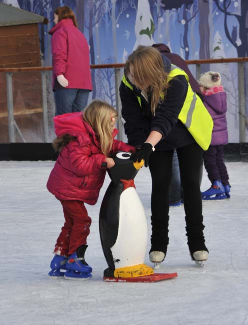 Fun for kids at the Ice Factor