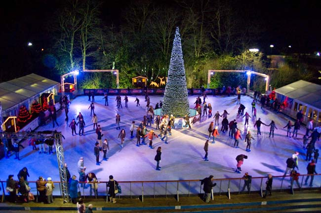 Skating at the Ice Factor
