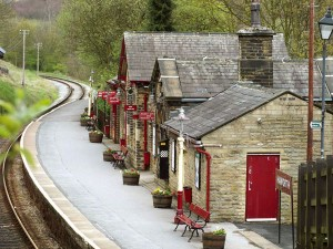 Haworth Station © 2012 Chris Jones/Bow House