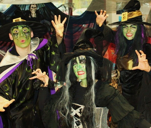 Witches and wizards at the North Yorkshire Moors Railway