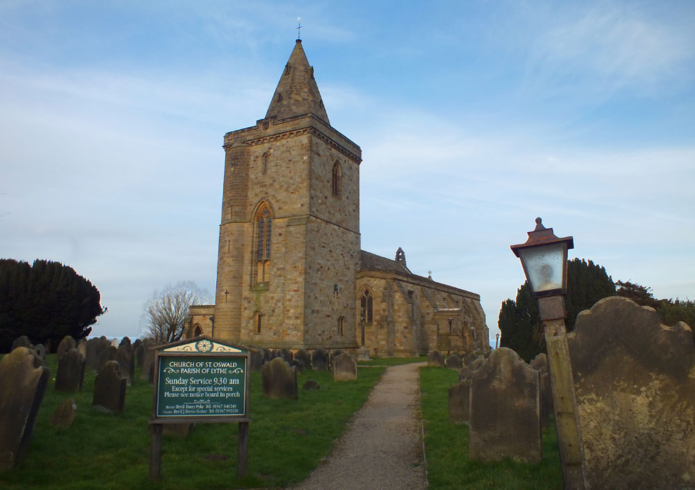 The Church of St Oswald, Lythe