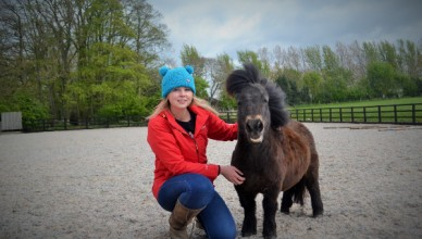 Hannah and Little Alf about to show off all the best things to do in the dales