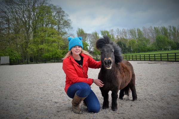 Hannah and Little Alf ready to show off great things to do in the Dales