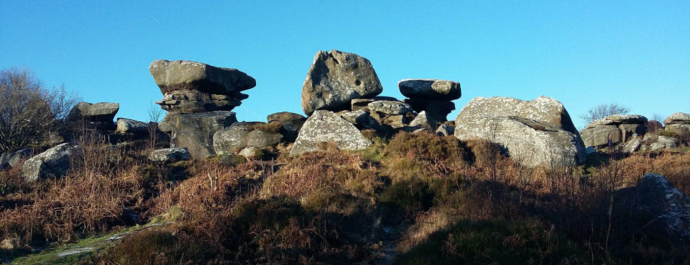 Image of Brimham Rocks as one of the things for couples to do in Yorkshire