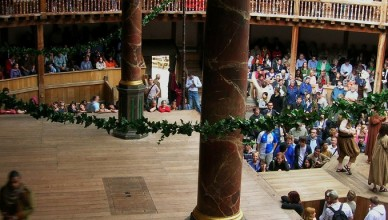 stage and audience at Shakespeare Rose Playhouse