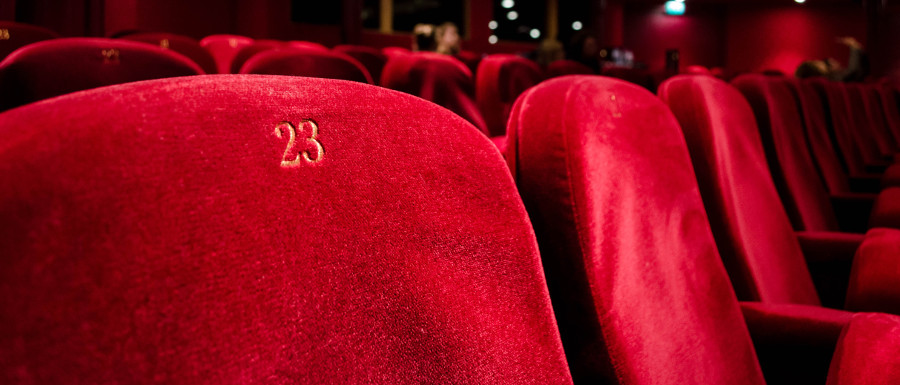 seats at the Ritz cinema
