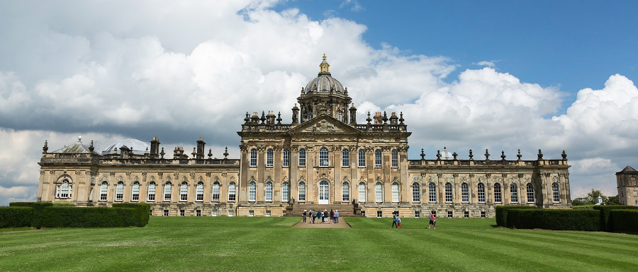 Castle Howard grounds and exterior