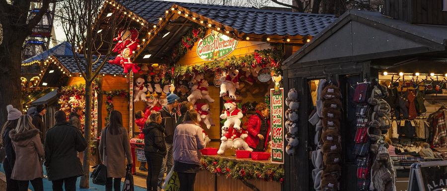 christmas market activities in Yorkshire