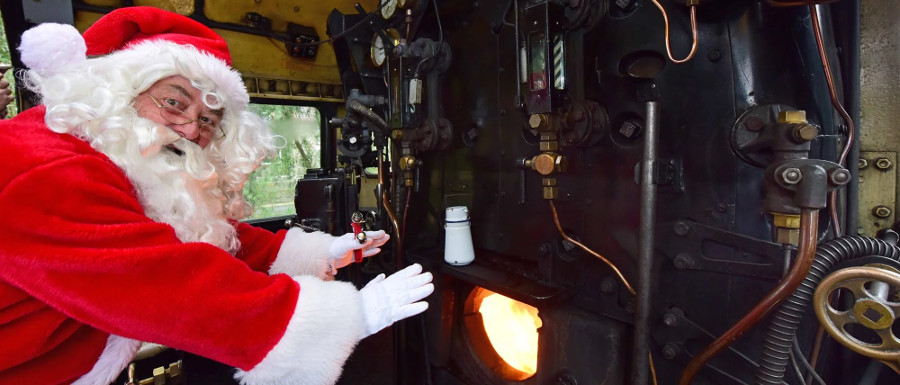 North Yorkshire Moors Railway Christmas event