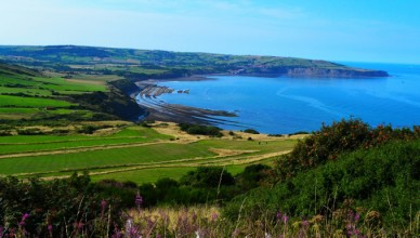 Ravenscar beach and bay