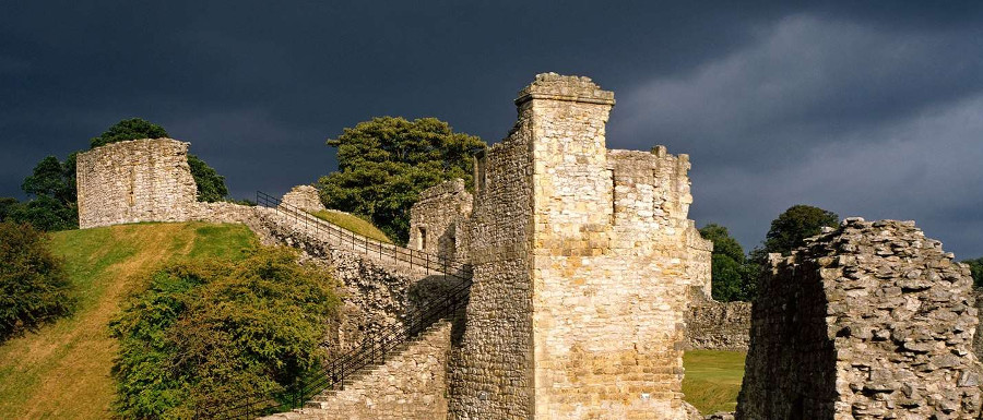 The castle is one of the great things to do in Pickering