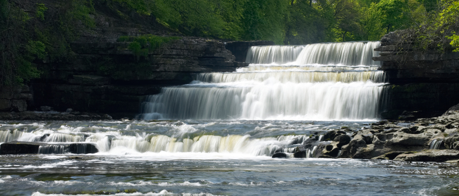 Aysgarth Yorkshire Dales waterfalls