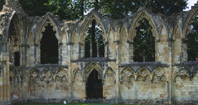 York Museum Gardens abbey ruins