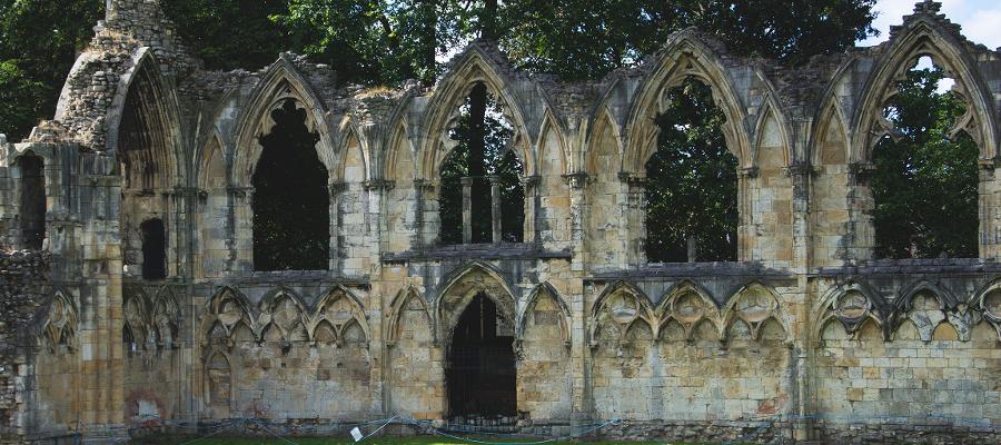 York Museum Gardens abbey ruins