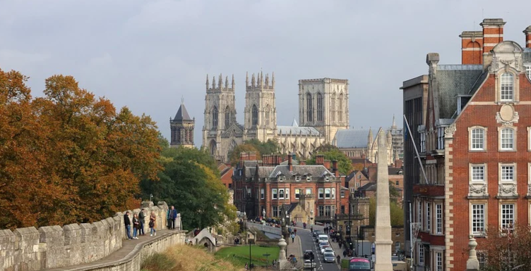 York city centre staycation holiday destination