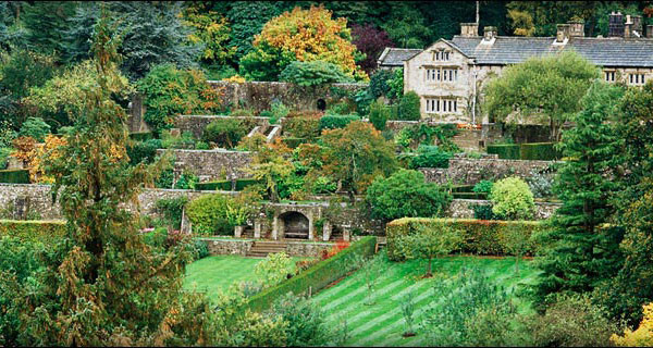 Parcevall Hall Gardens in North Yorkshire