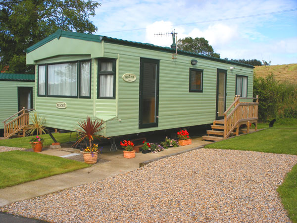 A holiday home at Rigg Farm Caravan Park