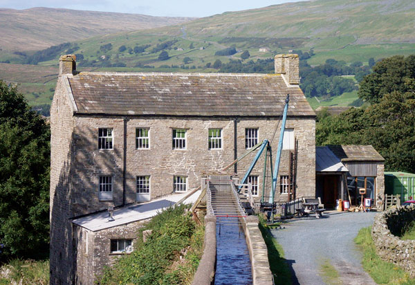 Gayle Mill in Hawes one of the great Yorkshire museums